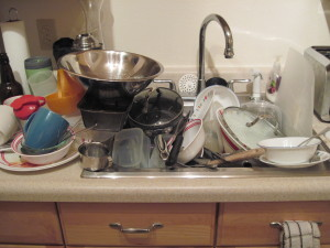 Doing the Dishes... Or Procrastinating About It